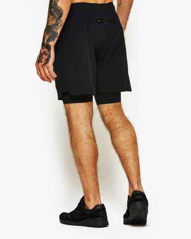 Dipardo 2 In 1 Shorts Black