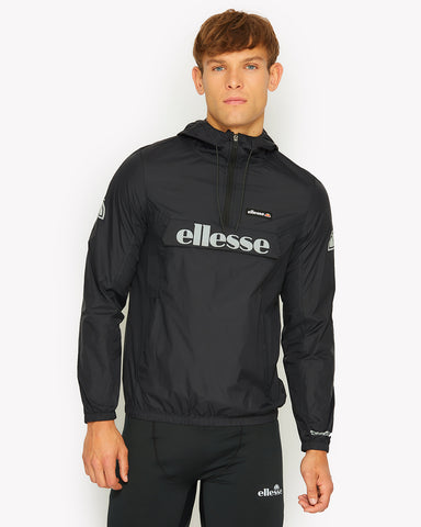 Berto Rain Jacket Black
