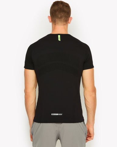 Ster Seamless T-Shirt Black