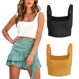 Strappy Tank Crop Top