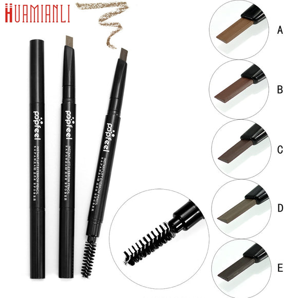 Cosmetics Makeup Double Automatic Rotation Eyebrow Eyeliner Pencil Tool G6819