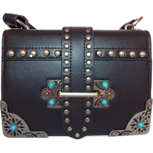 Scarlett Studded Bag - Black