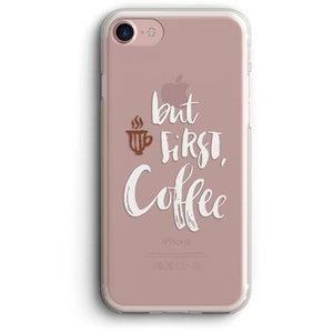 BUT FIRST, COFFEE CLEAR PHONE CASE