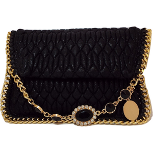 Mila Clutch Bag - Black