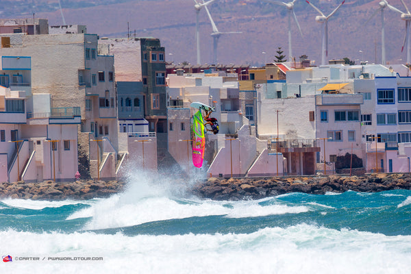 NUCLEAR CONDITIONS DURING PWA GRAN CANARIA WIND & WAVES FESTIVAL