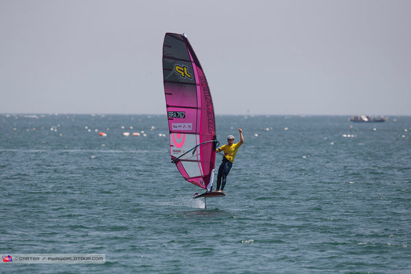 FIRST VICTORY IN KOREA FOR ISAAC IN FOILING ON THE PWA TOUR