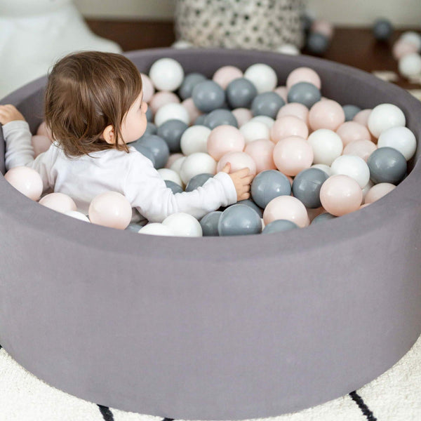 Ball Pit - DARK GREY - Choose your ball colours - Scandibørn