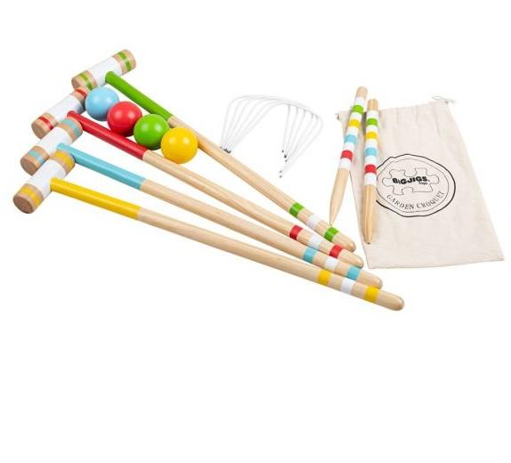 Bigjigs Garden Croquet Set - Scandibørn