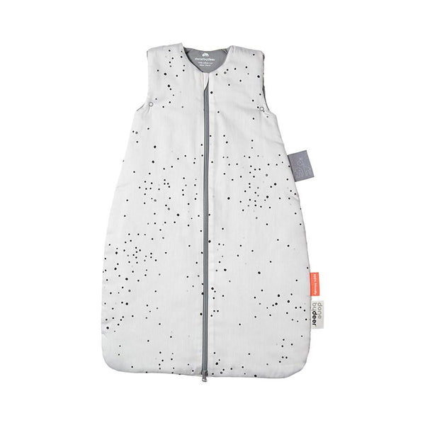 Done By Deer Sleeping Bag in Dreamy Dots White - Scandibørn