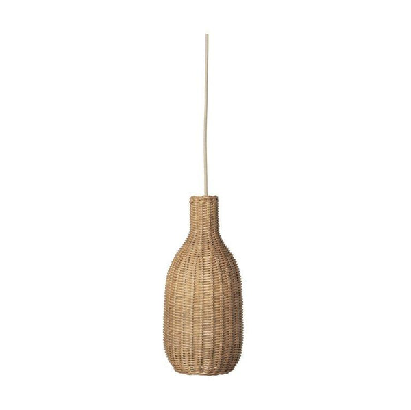Ferm Living Braided Bottle Lampshade in Natural - Scandibørn