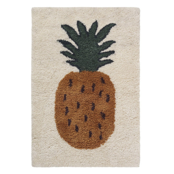 Ferm Living Fruiticana Tufted Pineapple Rug - Scandibørn