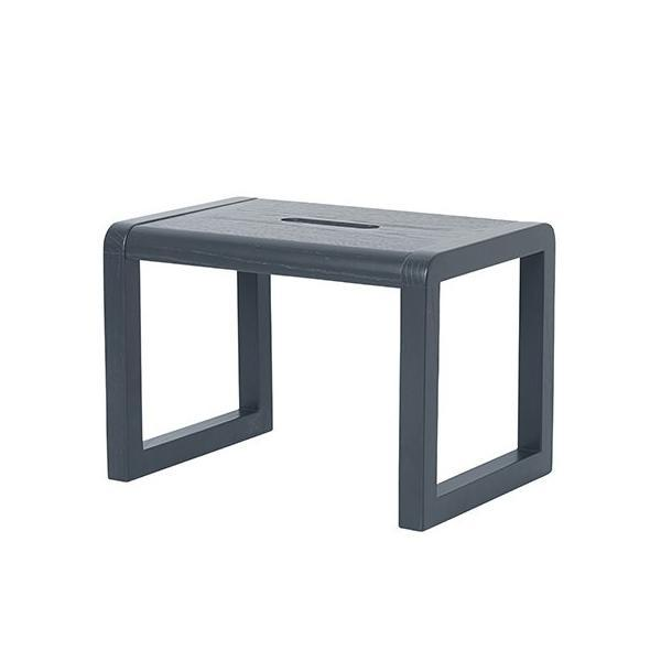 Ferm Living Little Architect Stool in Dark Blue - Scandibørn