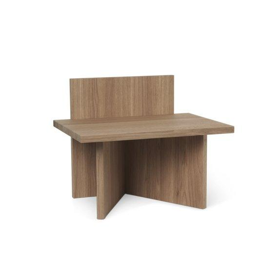 Ferm Living Oblique Stool in Oak - Scandibørn