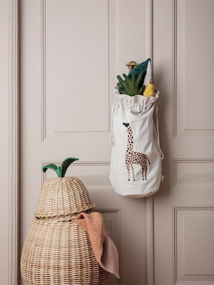 Ferm Living Pear Braided Storage Basket Large - Scandibørn
