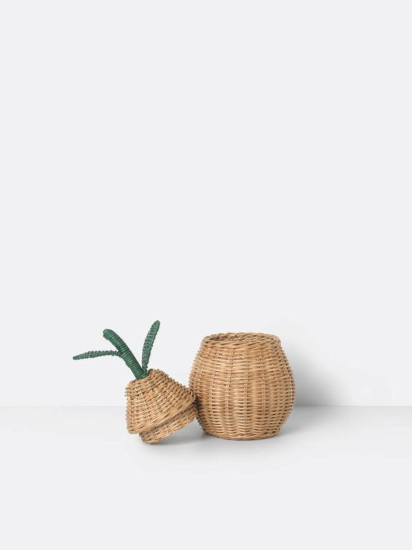 Ferm Living Pear Braided Storage Basket Small - Scandibørn