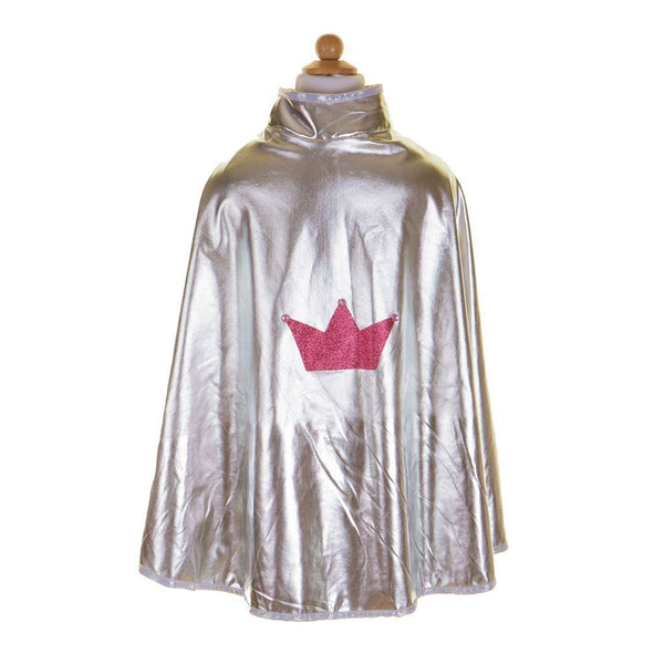 Great Pretenders Reversible Wonder Cape in Pink/Silver - Scandibørn