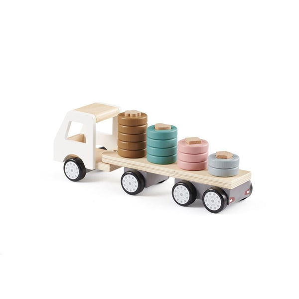 Kids Concept - Aiden Sorter Ring Truck - Scandibørn