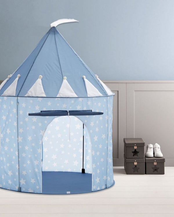 Kids Concept Play Tent in Star Blue - Scandibørn
