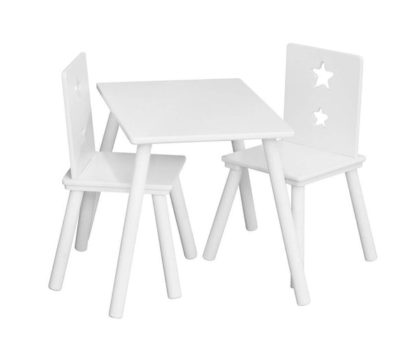 Kids Concept Star White Table - Scandibørn