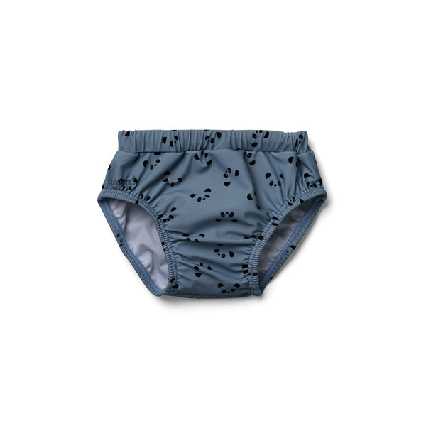 Liewood Frej baby boy swim pants Panda Wave Blue - Scandibørn