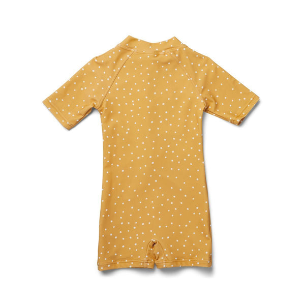 Liewood Max Swim Jumpsuit in Confetti Yellow Mellow - Scandibørn