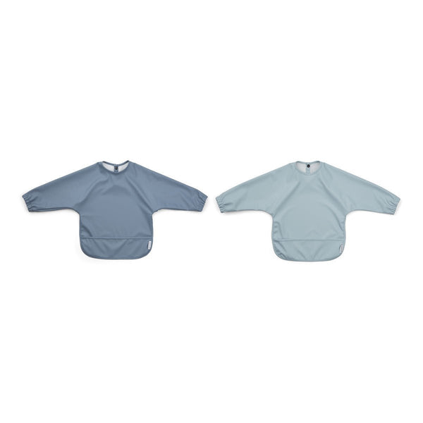 Liewood Merle Cape Bib - 2 Pack Blue Mix - Scandibørn