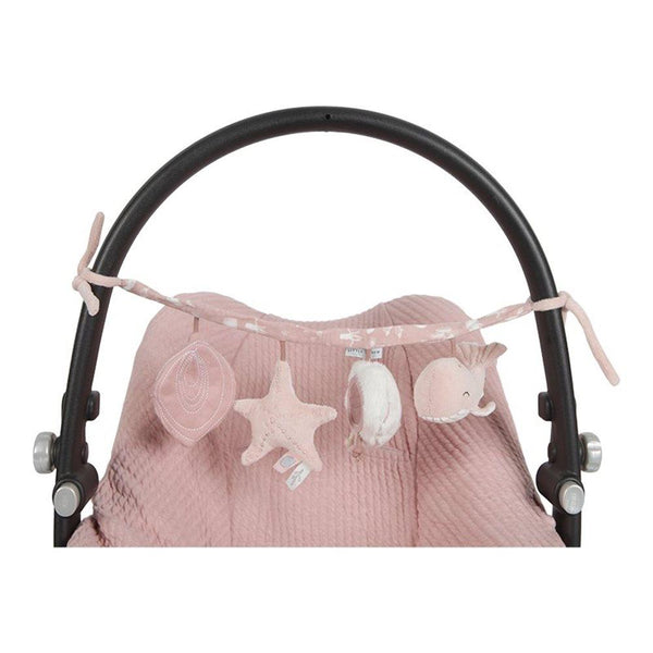 Little Dutch Pram Chain Toy Ocean Pink - Scandibørn