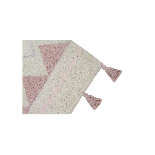Lorena Canals Azteca Washable Rug in Vintage Nude - Scandibørn