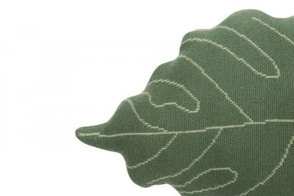 Lorena Canals Knitted Cushion Baby Leaf - Scandibørn