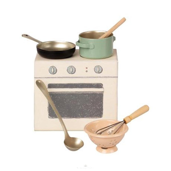 Maileg Doll's Cooking Set - Scandibørn