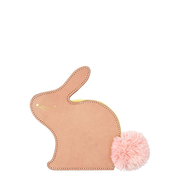 Meri Meri Leather Bunny Coin Purse - Scandibørn