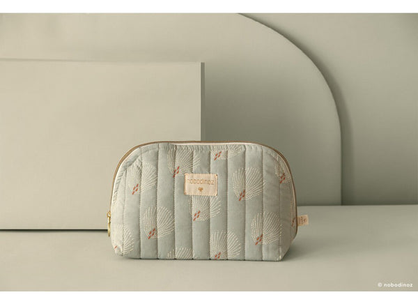 Nobodinoz Holiday Vanity Case in Gatsby White / Green - Scandibørn