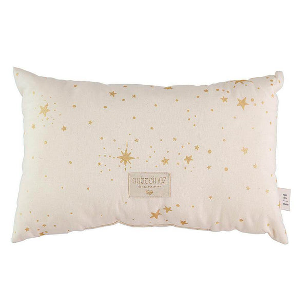Nobodinoz Laurel Cushion Gold Stella Natural - Scandibørn