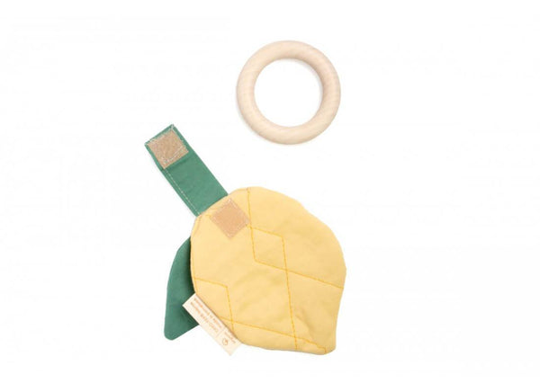 Nobodinoz Lemon teether ring - Scandibørn