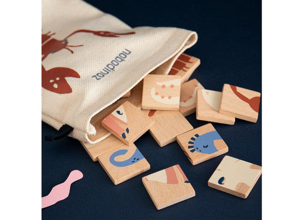 Nobodinoz Wooden Puzzle Sea Animals - Scandibørn