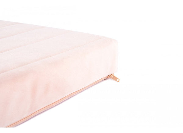 Nobodinoz Zanzibar Velvet Mattress in Bloom Pink - Scandibørn