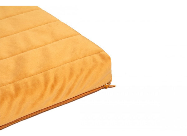 Nobodinoz Zanzibar Velvet Mattress in Farniente Yellow - Scandibørn