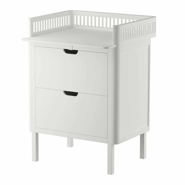 Sebra Juno Changing Unit White - With Drawers - Scandibørn