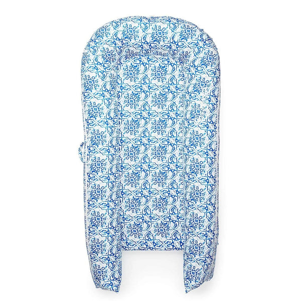 Sleepyhead Grand Pod Spare Cover in Villa Azure (9-36 months) - Scandibørn