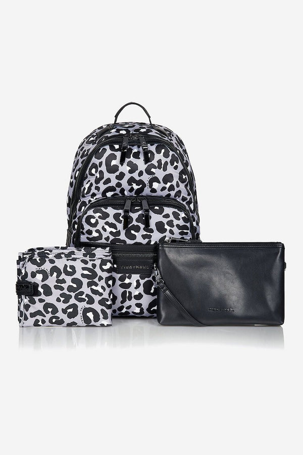 Tiba and Marl Elwood Backpack in Mono Leopard - Scandibørn