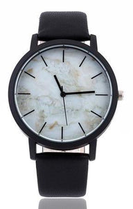 Marble Style Leather Watch - SkyeClothes