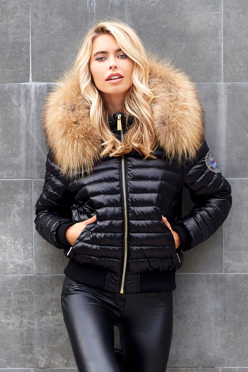 Padded Coat Edit Padded Coat With Fur Hood Holland Cooper