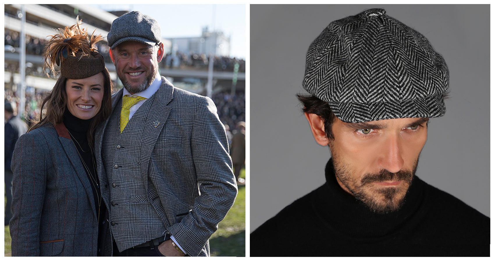 260670d8 And integral to its shape is the tweed with which it's made; woven into  triangles sealed together with a button, and then ridged with a flat cap.