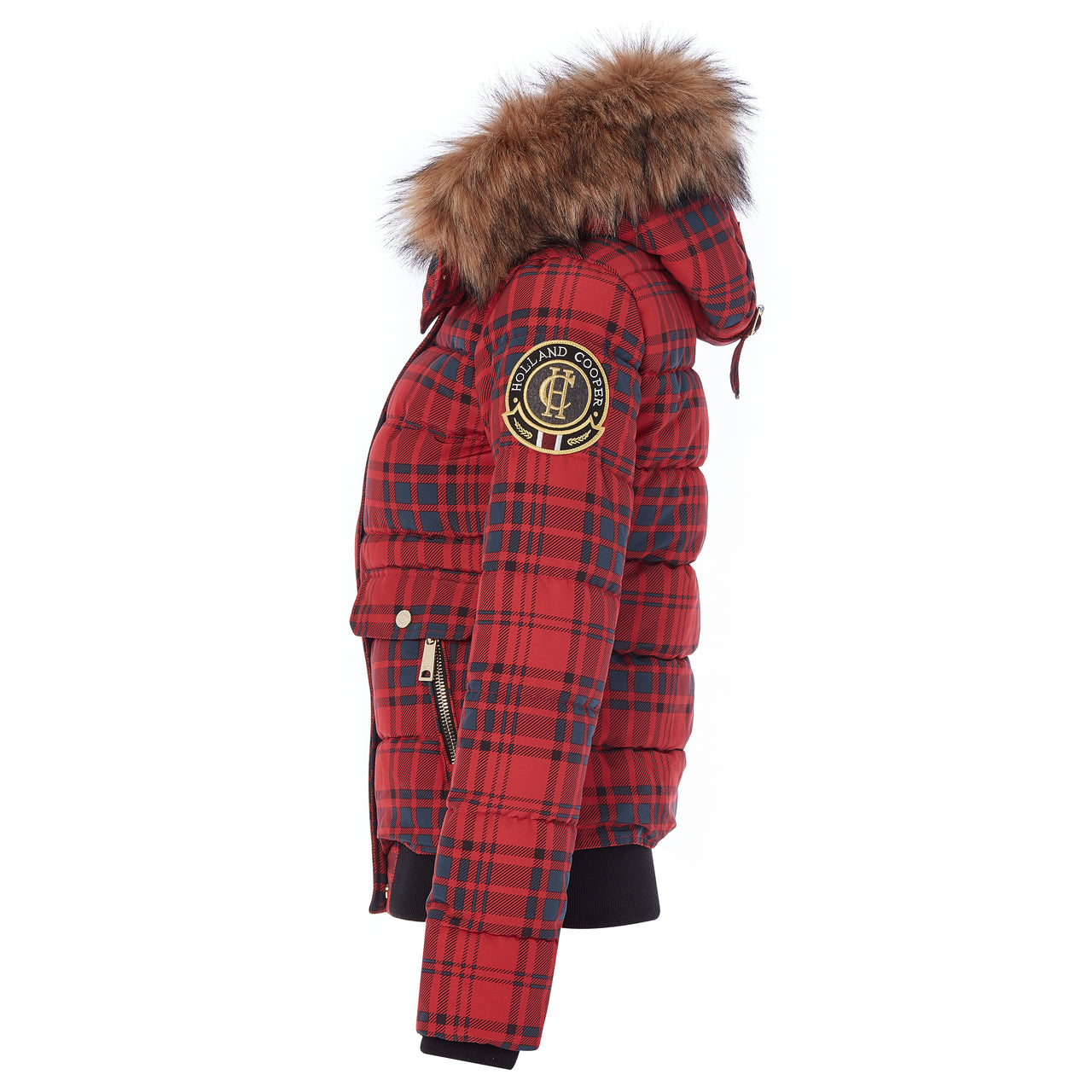 Ventina Puffer (Red Tartan - Limited Edition)