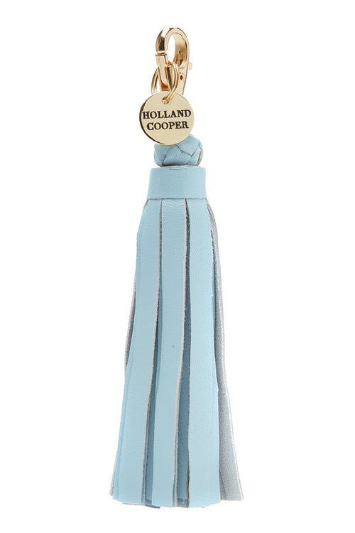 Mayfair Tassels (Light Blue Leather)