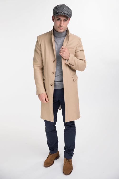 Finsbury Over Coat (Camel)