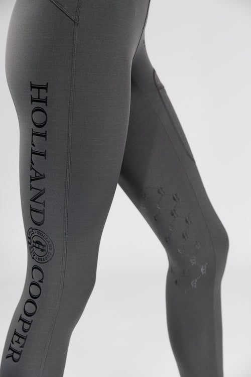 Equi-Legging Luxe (Charcoal)