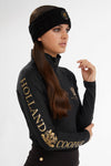 Luxe Cable Knit Headband (Black)