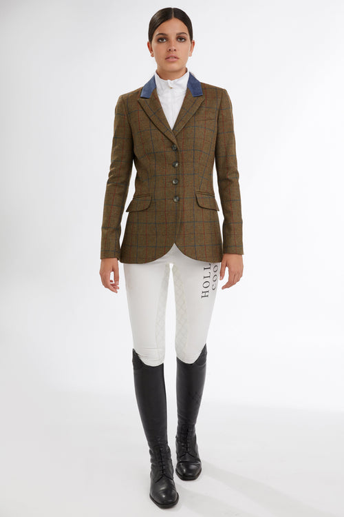Tweed Riding Jacket (Glen Green)