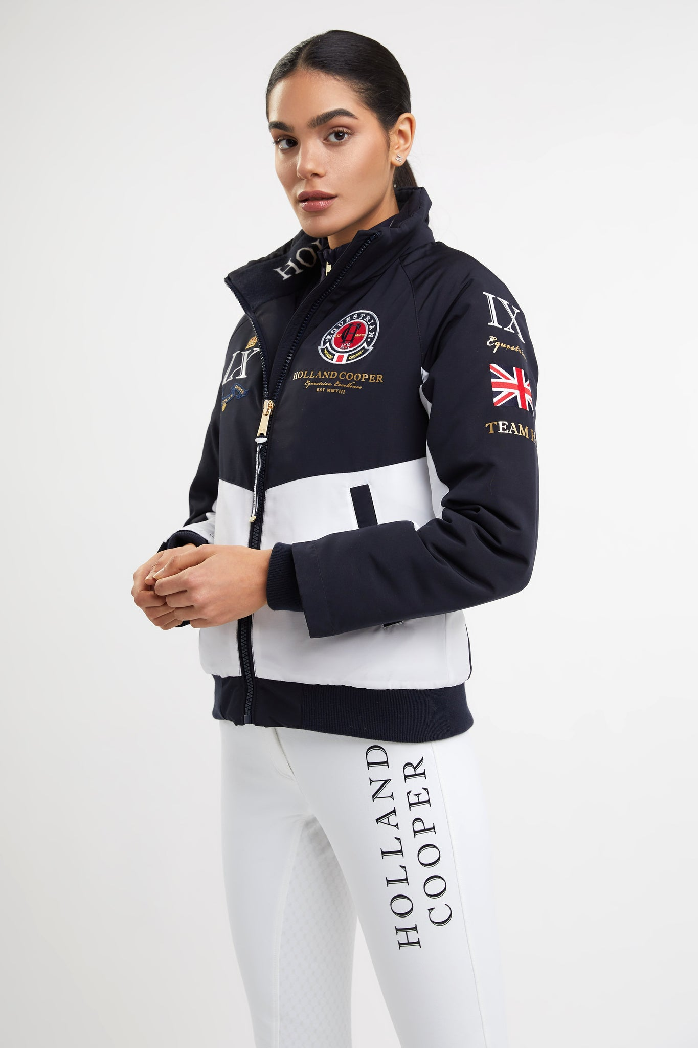 Team Jacket (Chalk White)